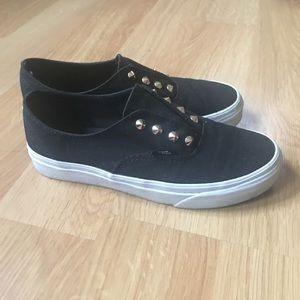 Studded Vans Sneakers Women's Authentic Slip On 7